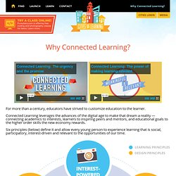 Cities of Learning » Why Connected Learning?