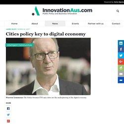 Cities policy key to digital economy