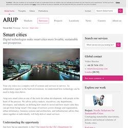 Smart Cities & Sustainable Urban Development