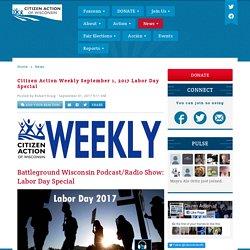 Citizen Action of Wisconsin blog