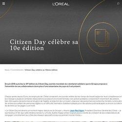 Citizen Day célèbre sa 10e édition
