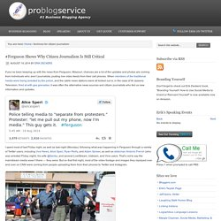 citizen journalism Archives - Pro Blog Service