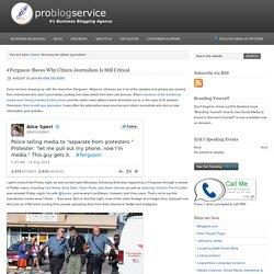 citizen journalism Archives - Pro Blog Service