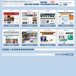 Citizen journalism directory