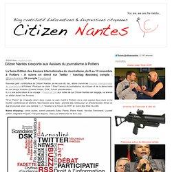 Citizen Nantes s'exporte aux Assises du journalisme à Poitiers