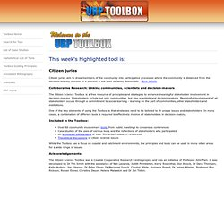 Citizen Science Toolbox