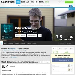 Citizenfour - Documentaire (2015)