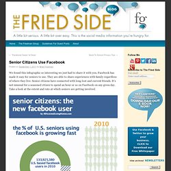 Senior Citizens Use Facebook | The Fried Side
