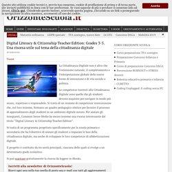 Digital Literacy & Citizenship Teacher Edition: Grades 3-5. Una risorsa utile sul tema della cittadinanza digitale