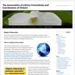The Association of Library Consultants and Coordinators of Ontario