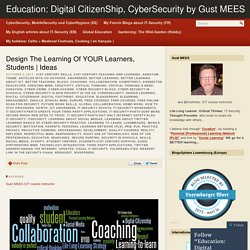 Design The Learning Of YOUR Learners, Students