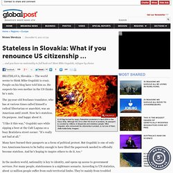 What if you renounce US citizenship?