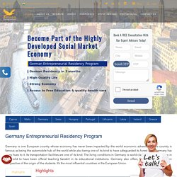 Germany Permanent Residency & Citizenship Visa by Investment Consultant