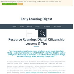 Digital Citizenship - EdTech Update