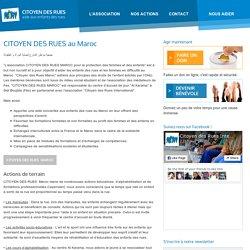 CITOYEN DES RUES au Maroc » CITOYEN DES RUES