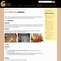 Graine de Citoyen - Les différents ateliers