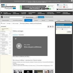 Être citoyen à Athènes : entretien avec Vincent Azoulay - Vidéos ouvrages - Ouvrages