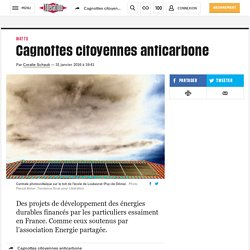 Cagnottes citoyennes anticarbone