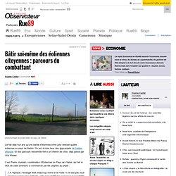 Bâtir soi-même des éoliennes citoyennes: parcours du combattant