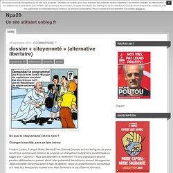 dossier «citoyenneté» (alternative libertaire)