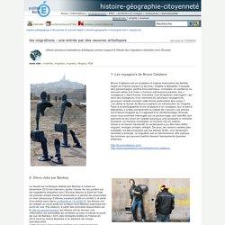 histoire-géographie-citoyenneté - les migrations - une entrée par des oeuvres artistiques