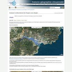 histoire-géographie-citoyenneté - Analyser le débordement de l'Argens avec édugéo