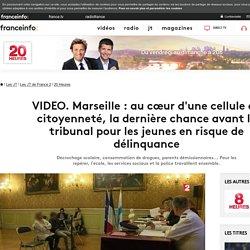VIDEO. Marseille : au cœur d'une cellule de citoyenneté, la dernière chance avant le tribunal pour les jeunes en risque de délinquance