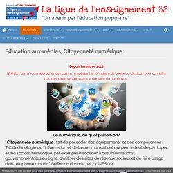 Education aux médias & Citoyenneté numérique - Ligue de l'enseignement