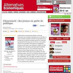 Citoyenneté: des jeunes en quête de politique