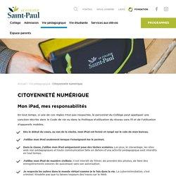 Citoyenneté numérique – Collège Saint-Paul