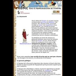Rome. Citoyenneté, politique et droit