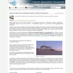 histoire-géographie-citoyenneté - Soulac-sur-Mer face au changement global - démarche prospective