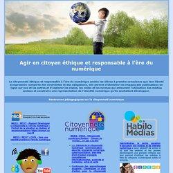 Commission scolaire de Charlevoix - La citoyenneté éthique et responsable à l'ère du numérique