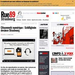 Citoyenneté numérique : Schiltigheim devance Strasbourg