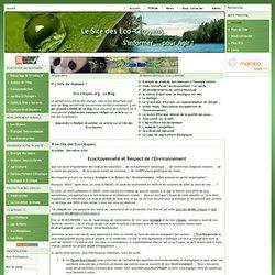 Le Site des Eco-Citoyens et de l'Environnement - Accueil