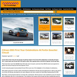 Citroen DS3 First Year Celebrations at Fertre Gaucher Circuit