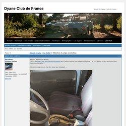 Forum du Citroën Dyane Club de France / Réfection du siège conducteur.