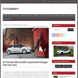 La Citroën DS3 souffle sa première bougie avec ses fans