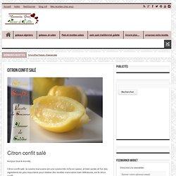 citron confit salé
