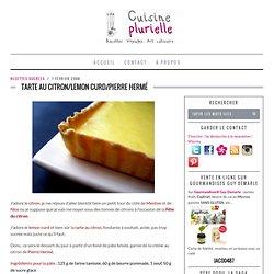 Tarte au citron/lemon curd/Pierre Hermé