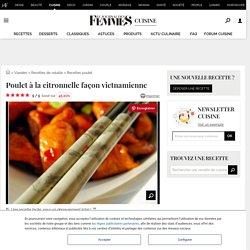 Recette de Poulet à la citronnelle façon vietnamienne