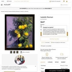 Le citronnier - Isabelle Noonan - Peinture à l'Huile
