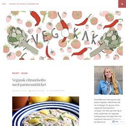 Vegansk citronrisotto med parmesantricket – Vegokäk