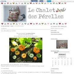 Les citrouilles au crochet - Le Chalet des Perelles