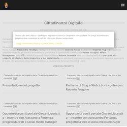 Cittadinanza Digitale: consapevolezza e senso critico nell'era del web