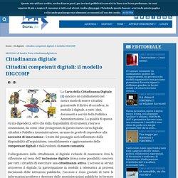 Cittadini competenti digitali: il modello DIGCOMP