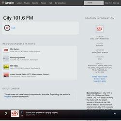 City 101.6 FM - Dubai