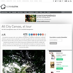 All City Canvas, el tour