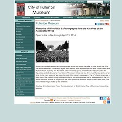 City of Fullerton - Fullerton Museum