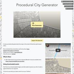 City Generator by ProbableTrain